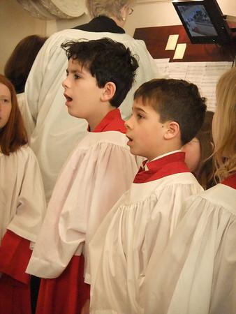 St. James Choir February 2010