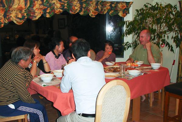 Friends visit Sun Cui Yu