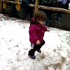 Madeleine walking at the Hardware Ranch.