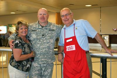 With Bob Babcock of Mt Bethel's Veteran's Ministry