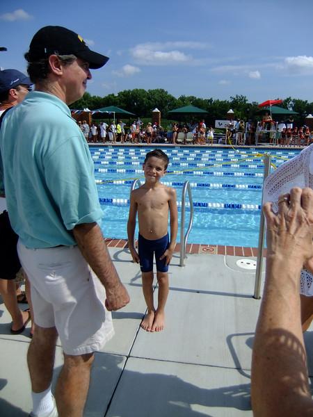 Ian's first swim meet @ CCV