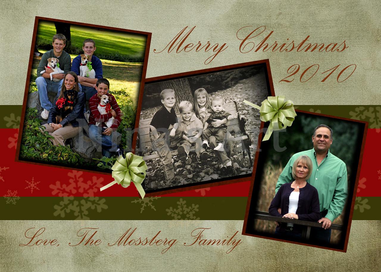 Christmas card copy