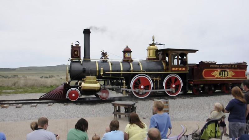 Train at Golden Spike