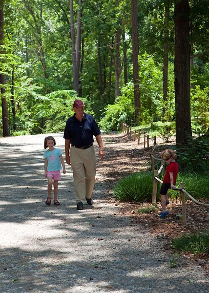 Stroll at the Birmingham Botanical Gardens