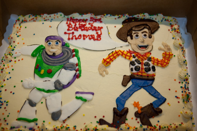 Woody and Buzz Lightyear!