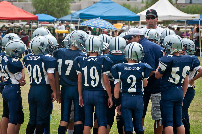 8.21.2010 -- Images from the scrimmages at Rillito race track.
