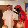 Zoals ieder jaar begon het spektakel met een toneelstuk.