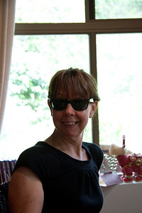 June and her new cool sunnies