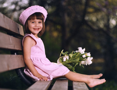 Rachel, spring 1998.