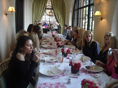 Christine Handy's 40th Birthday Luncheon at The Mansion-2010