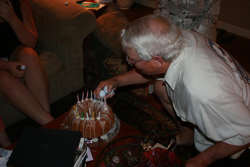 Dad's 79th Birthday, 06/11/11.