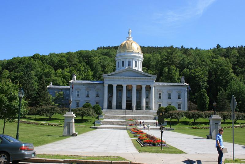 Vermont State Capitol, Montpelier, VT.