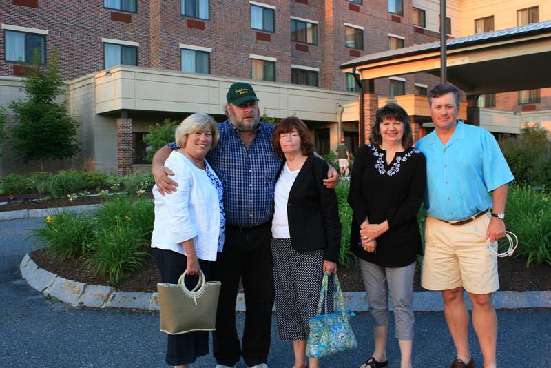 Gail Brooks Johnson, Jeff Brooks, Betty Brooks Sullivan, Laurie Brooks Mullett, me.
