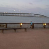 SPI bridge from Pelican Station Restaurant in Port Isabel, TX, July 2011.