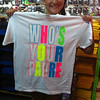 "Rachel's new shirt from South Padre Island, TX, July 2011. ""Who's Your Padre?"""