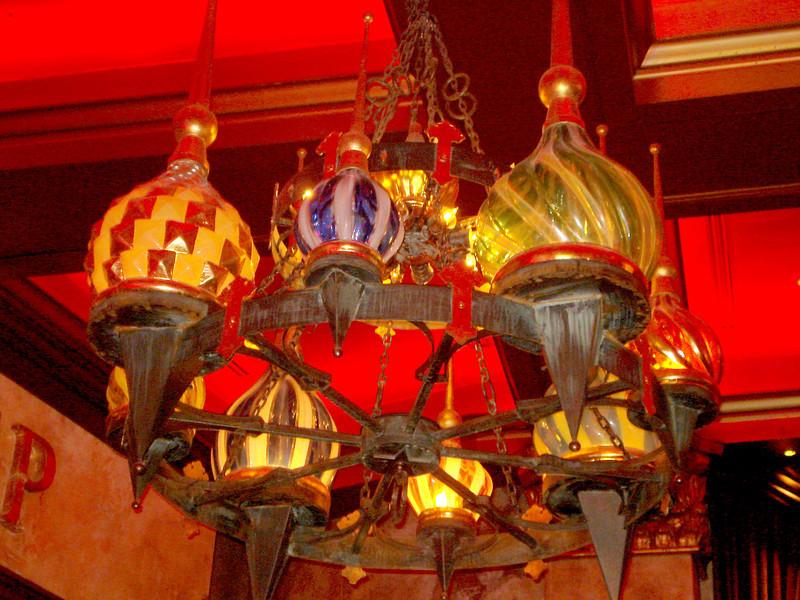 At the Mandalay Bay Resort, Red Square Restaurant.