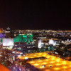 View from the top of the Foundation Room Restaurant, part of the House of Blues, at the Mandalay Bay Resort.