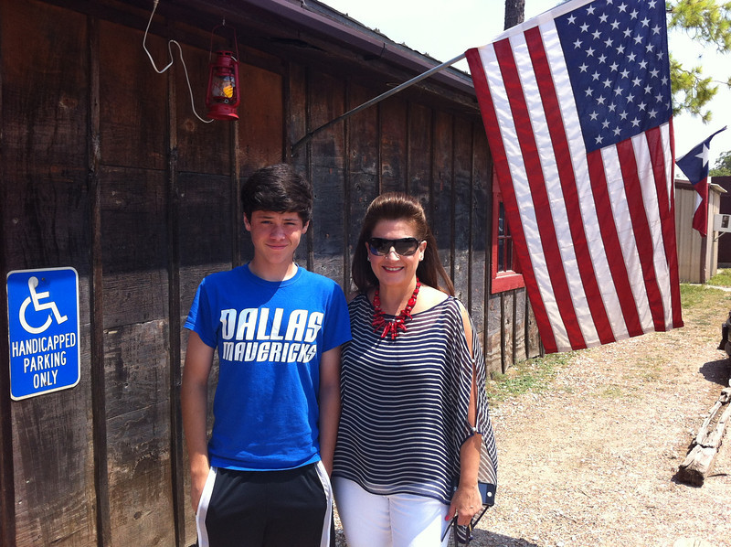 At Clark's Outpost, Tioga, TX, July 4, 2013.