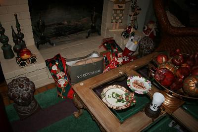 Christmas morning, 2009.