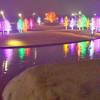 Vitruvian lights in Addison, TX.