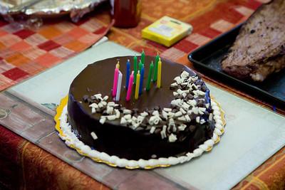 Will and Sue's birthday cake