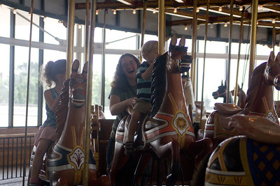 No trip to the museum would be complete without a ride on the carousel