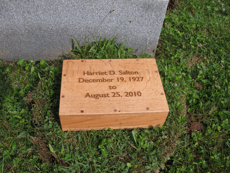 Harriet's Ashes
