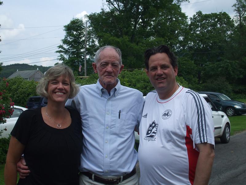 Lynne, Robert and Dan (all Salton's)