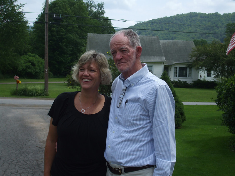 Lynne Salton and Robert Salton