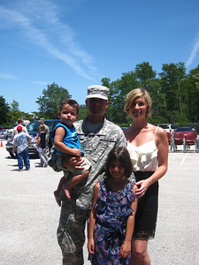 "OUR military family deserves our thanks and needs our prayers. We can all learn to be ""Army Strong""."