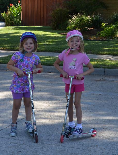 2011-09-25 Mollie & Olivia