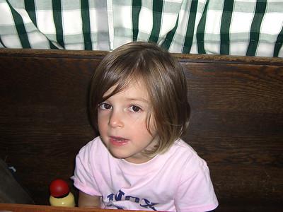 11-Hazel waits patiently in Sunnyside Cafe