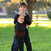 Jennifer Campiti's sons at Exall Park in Dallas, Texas on Saturday, November 5, 2011.