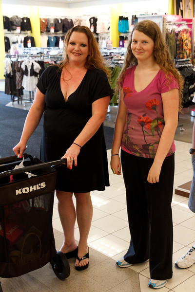 Some school shopping - August 2011