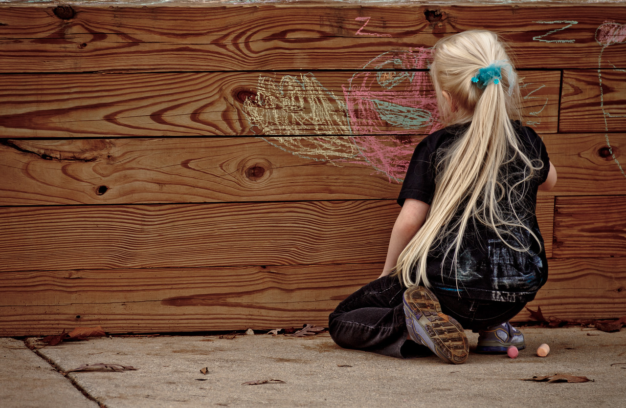 Chloe, Graffiti Artists, Age 5 - November 2011