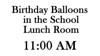March 29th, 2012 - Chloe's 6th Birthday