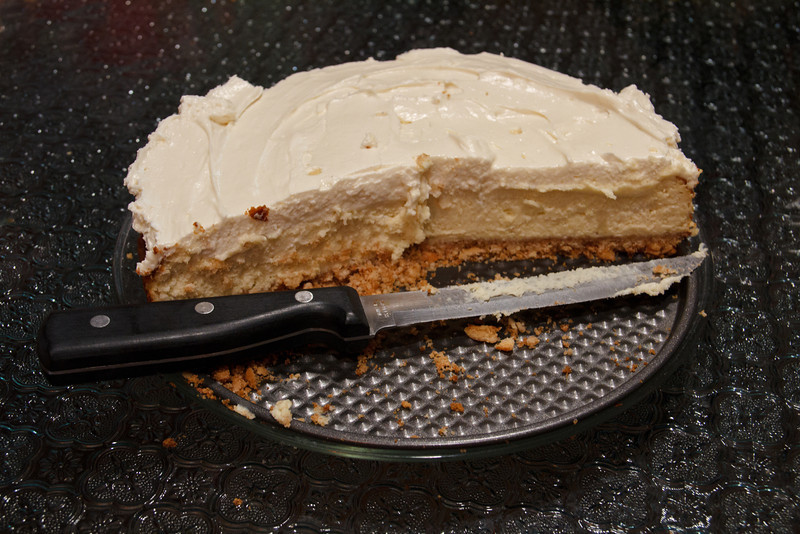 Jennifer's Vanilla Bean Cheesecake