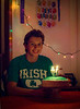 Later that evening: Joshua Paul Howland, age 17, December 12, 2012<br /> The Irish shirt was one of his birthday gifts.