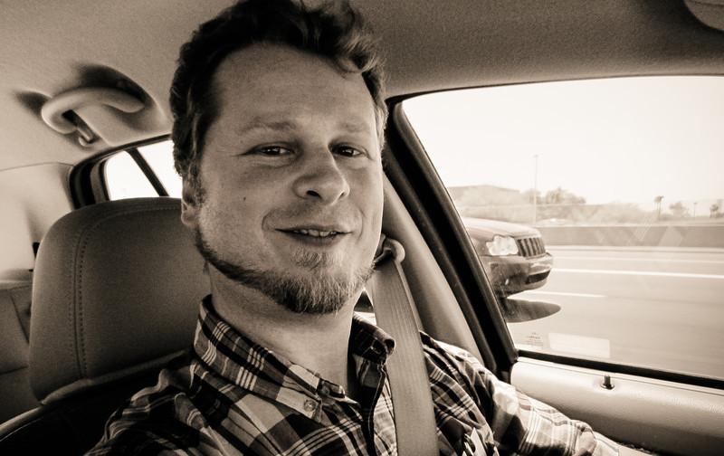 Tim (self-portrait), Phoenix Arizona, May 2012
