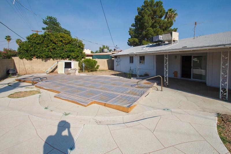 The backyard - Phoenix, May 2012