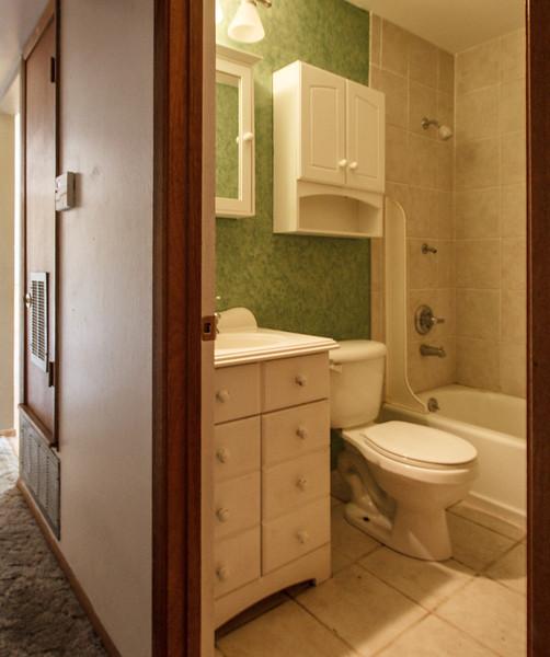 The hallway bathroom - Phoenix, May 2012