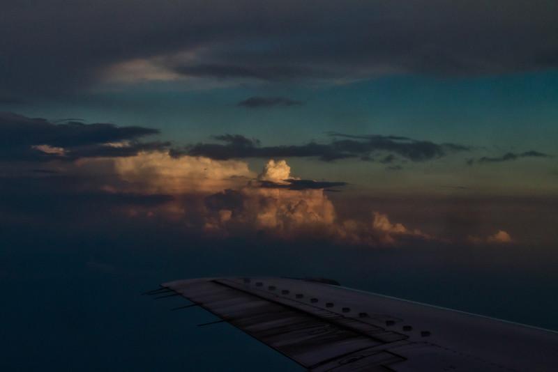 Tim's flight to Phoenix - May 18, 2012