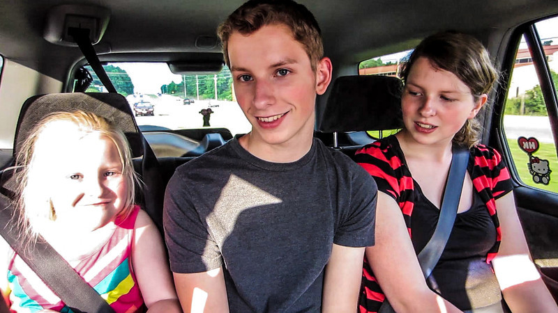 Driving Tim to the Huntsville Airport - May 18, 2012