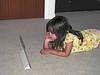 24-Hazel, iPad, Elmo