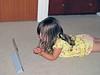 22-Hazel, iPad, Elmo