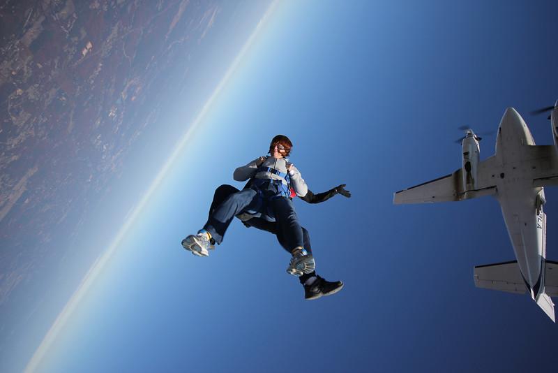 Ann Bellmor's Second Skydiving Event Cedartown, GA October 2011