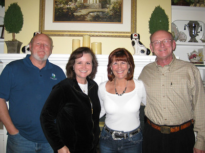 Richard, Bernadine, Ann & Russell Bellmor At Richard & Bernadine's Home 11-26-11 02