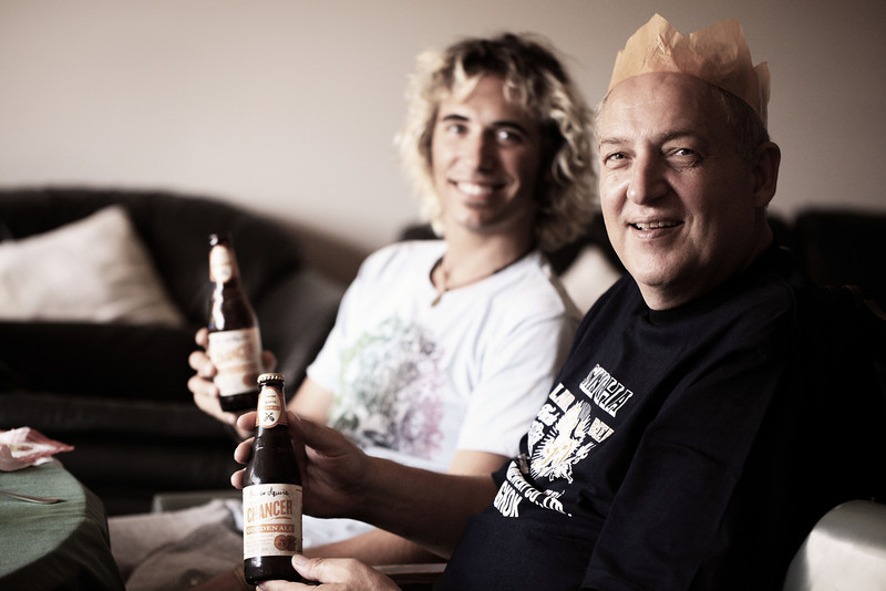 Marc and Harald.