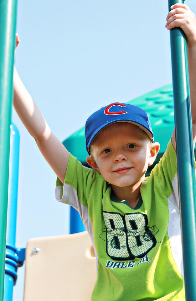 July 2, 2011 Zach Miller at Hayswood park.