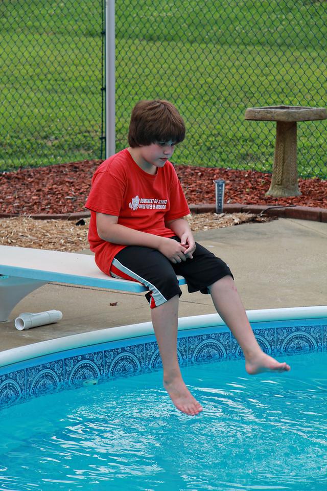 July 2, 2011 at Grandma's house